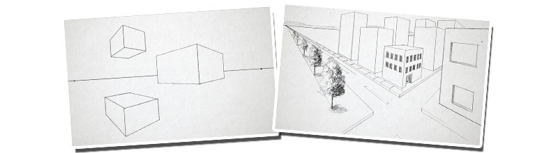 Two point perspective examples