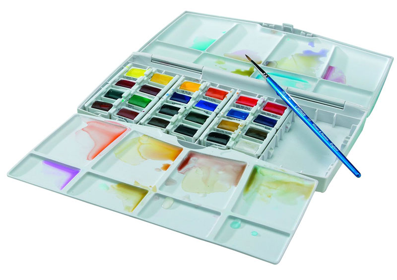 Watercolor painting set