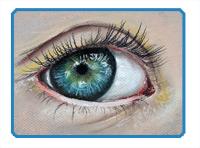 Realistic Eye Pastels