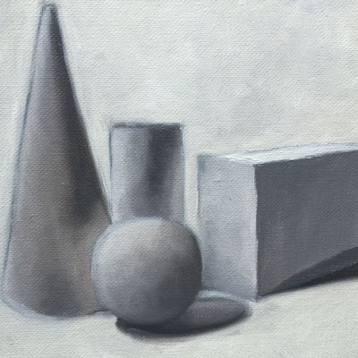 Basic Forms with Oils