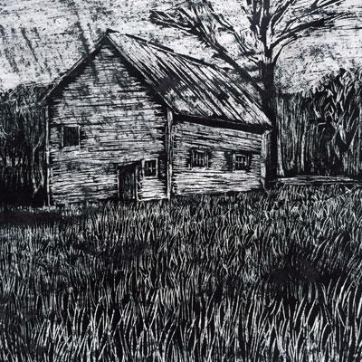 Crayon Etching