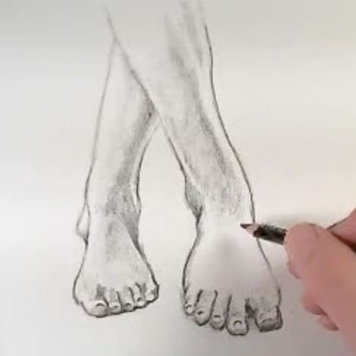 Drawing Feet