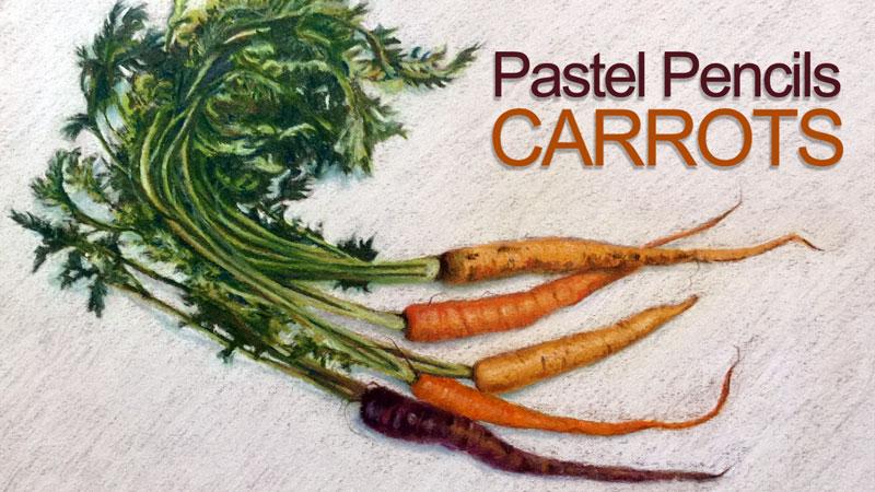 Pastel Pencils Carrots