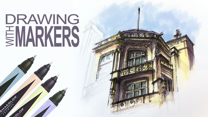 Drawing with Markers Live Lesson Series