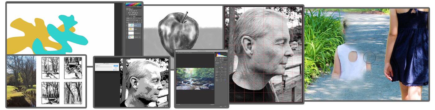 Basic Photoshop for Artists Images