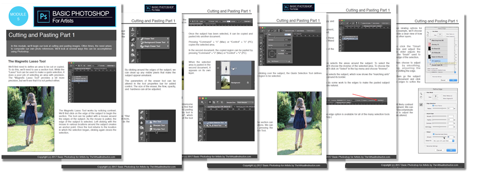 Basic Photoshop for Artists Ebooks