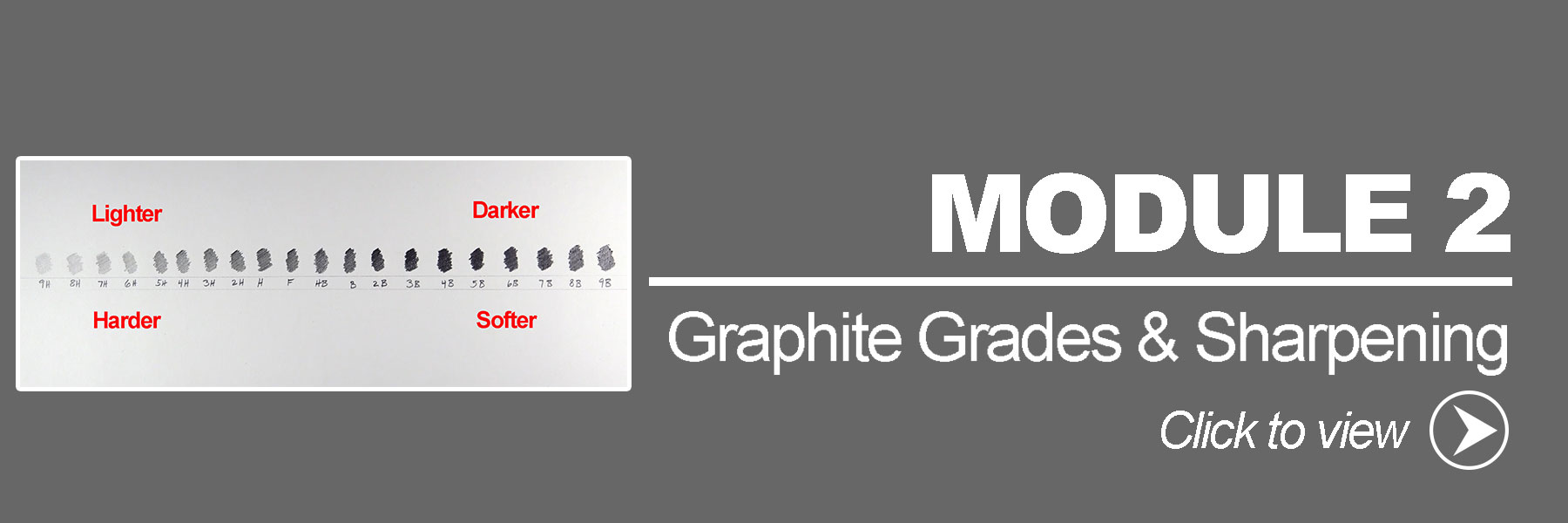 Graphite Grades and Sharpening