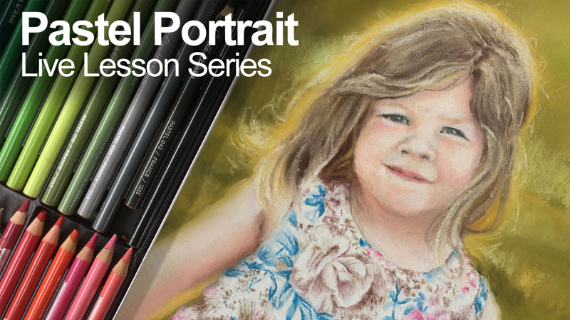 Pastel Portrait - Lesson Series