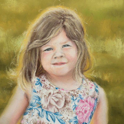 Pastel Portrait Lesson