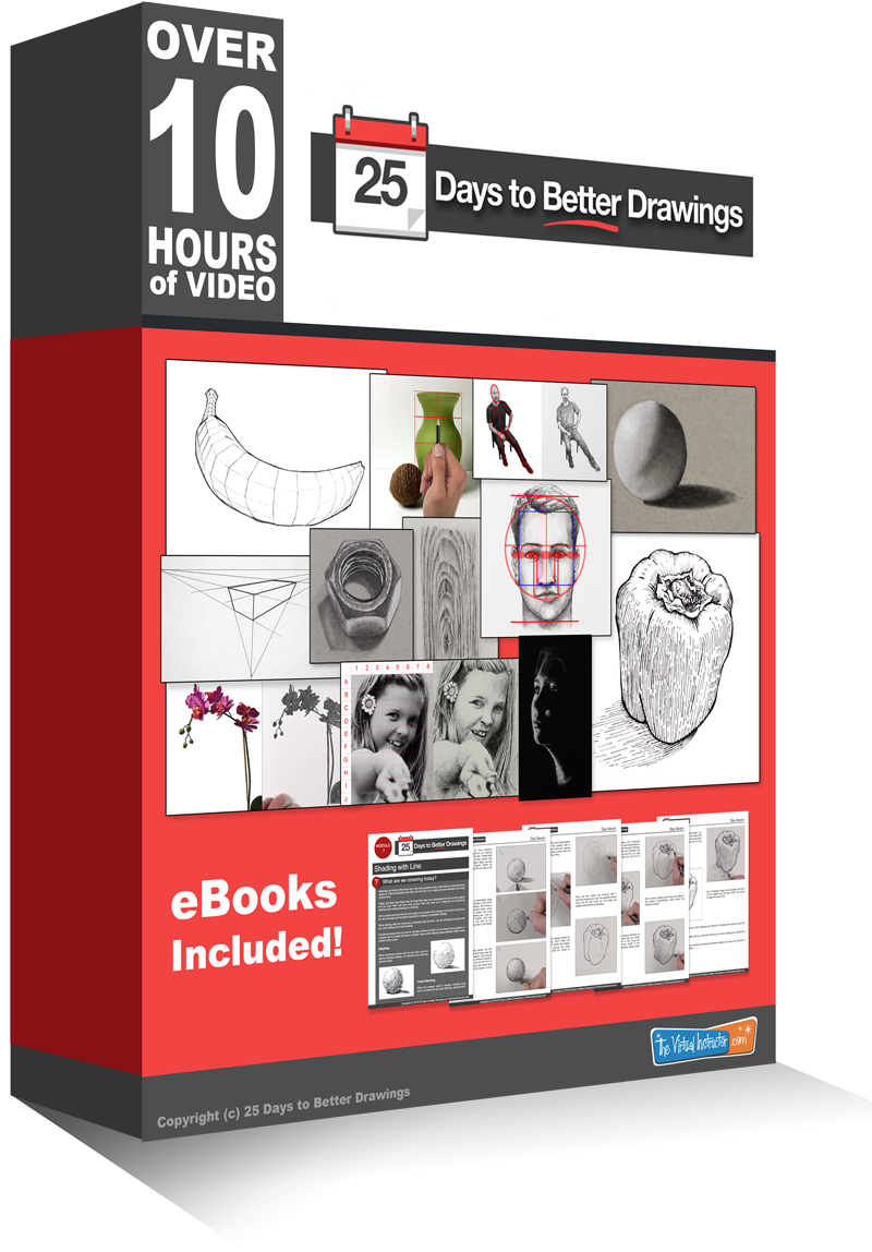 25 Days to Better Drawings - Drawing Course