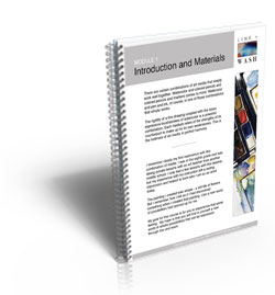 Line and Wash Introduction and Materials Ebook