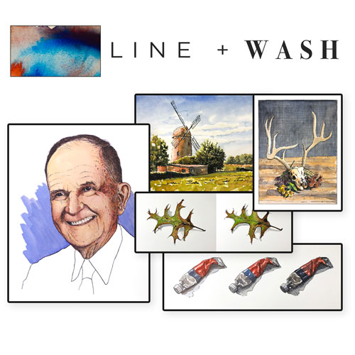 Line and Wash Course