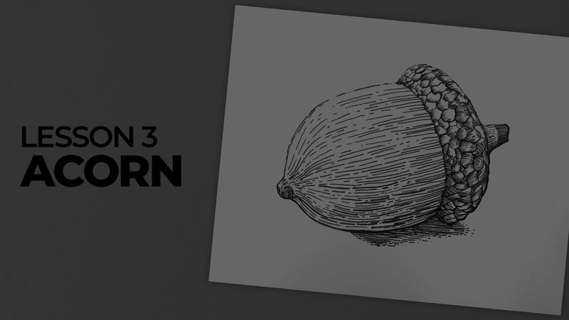 Subjects with ink - acorn