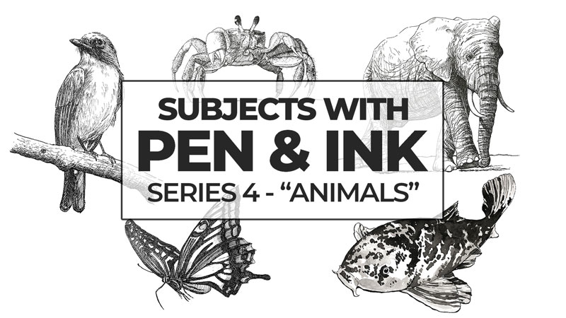 Recent Pen and Ink Lesson