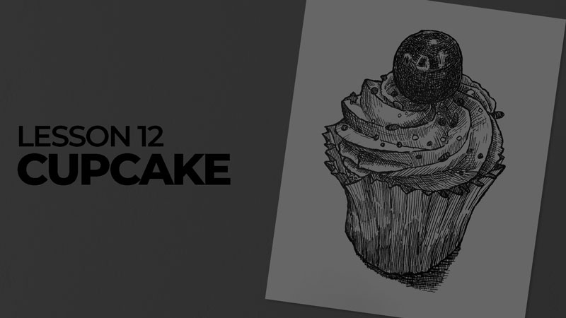 Subjects with ink - cupcake