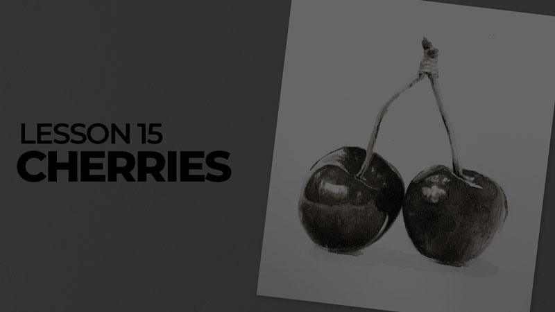 Subjects with ink - cherries