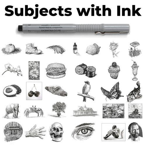 Subjects with Ink Course