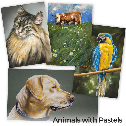 Animals with Pastels Course