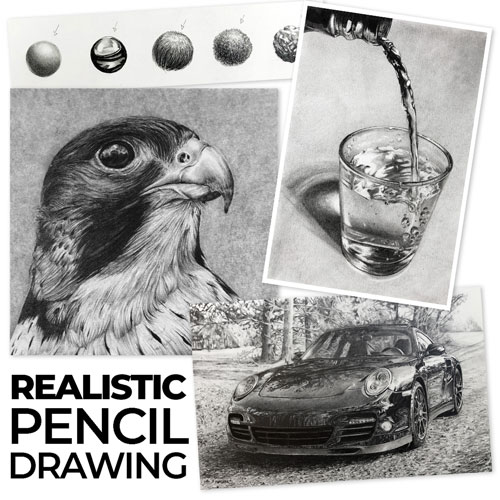 Realistic Pencil Drawing Course