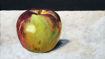 Acrylic Painting Techniques - Apple