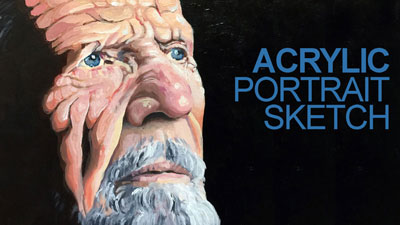 How to Paint a Portrait with Acrylics