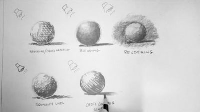 Graphite Drawing Techniques