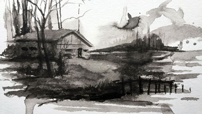 Creative Ink Wash