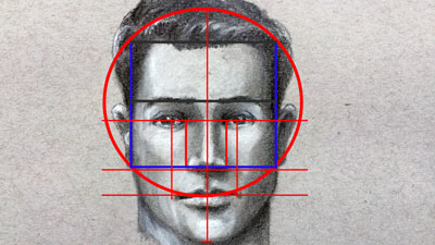 How to Draw Basic Facial Proportions