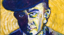 Expressive oil pastel portrait lesson