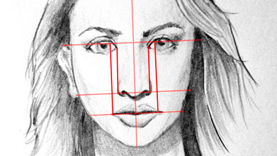 Facial Proportions - How to Draw a Face