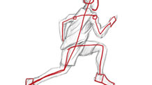 How to Draw a Person Running