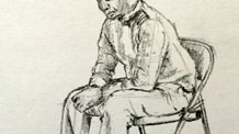 How to draw a seated figure - Live Lesson