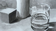 Ink wash still life lesson excerpts