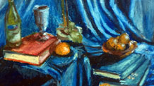 Oil Pastel Still Life Lesson Series