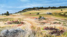 Landscape Painting with Pastels