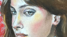 Pastel portrait lesson - excerpts