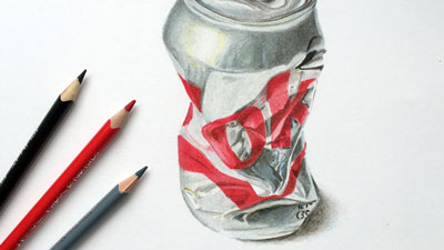 Realistic Colored Pencil Drawing